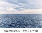 beautiful landscape of sea and... | Shutterstock . vector #591847490