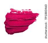pink purple lipstick smudged on ...   Shutterstock . vector #591883460