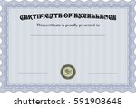 vector illustration of diploma... | Shutterstock .eps vector #591908648