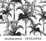 beautiful seamless vector... | Shutterstock .eps vector #591914954