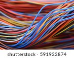Closeup Of Cable And Wire In...