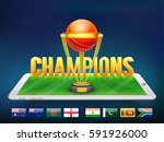 3d golden text champions with...   Shutterstock .eps vector #591926000