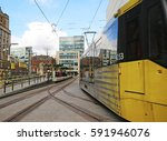 manchester  uk   march 1  2017  ... | Shutterstock . vector #591946076