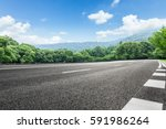 asphalt highways and mountains...