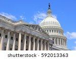 Stock photo us national capitol in washington dc american landmark 592013363