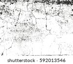 distressed overlay texture of... | Shutterstock .eps vector #592013546