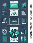 technology infographic | Shutterstock .eps vector #592031288