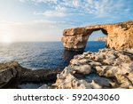 Famous Stone Arch Formation....