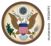 United States Great Seal  Coat...