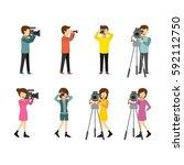 Set Of Cameraman And...