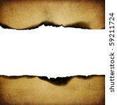 Vintage Burned Paper Backgroun...