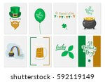 greeting cards  banners ... | Shutterstock .eps vector #592119149