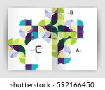 abstract background with color... | Shutterstock .eps vector #592166450