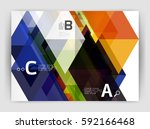 abstract background with color... | Shutterstock .eps vector #592166468