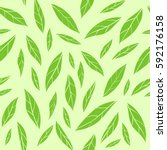 seamless vector pattern with... | Shutterstock .eps vector #592176158