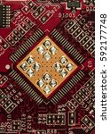 chip  high resolution photo | Shutterstock . vector #592177748
