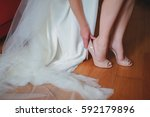wedding dressing | Shutterstock . vector #592179896