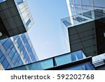 modern office building | Shutterstock . vector #592202768