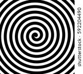 vector spiral background in... | Shutterstock .eps vector #592204490