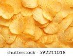Background Corrugated Golden...