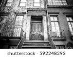 Exterior New York City Urban...