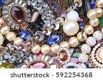 fashion jewelrys. fashion... | Shutterstock . vector #592254368