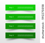vector lines arrows infographic.... | Shutterstock .eps vector #592270358