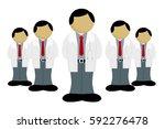 doctors  professions concept... | Shutterstock . vector #592276478