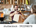 small business  people ... | Shutterstock . vector #592298078