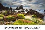 crohy head sea arch. co.... | Shutterstock . vector #592302314