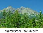 hight tatras - stock photo