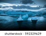 Iceland's Peaceful Glacier...