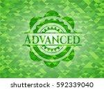 Advanced Realistic Green Mosai...