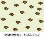 Chocolate Bar Vector Pattern