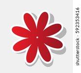 flower sign illustration....