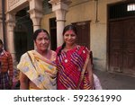 nandgaon  india  18 march 2016  ... | Shutterstock . vector #592361990