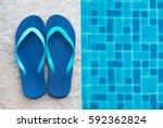 Stripped Flip Flop Summer Shoe...