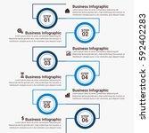 infographic elements template   ... | Shutterstock .eps vector #592402283