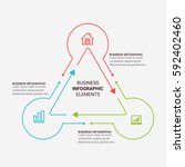 infographic elements template   ...   Shutterstock .eps vector #592402460