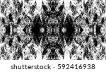 grunge black and white urban... | Shutterstock .eps vector #592416938