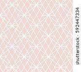 art deco seamless background. | Shutterstock .eps vector #592447334