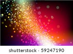 Colorful Particles