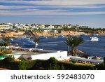 egypt  sharm el sheikh  ... | Shutterstock . vector #592483070