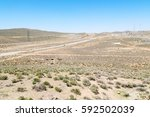 in iran blur mountain and... | Shutterstock . vector #592502039