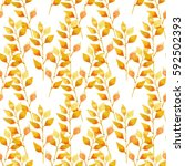 yellow plant on pattern for...   Shutterstock . vector #592502393
