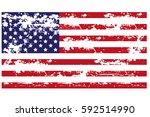 usa flag icon | Shutterstock .eps vector #592514990
