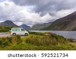 lake district   august 30  2014 ... | Shutterstock . vector #592521734