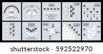 stiker template option number...   Shutterstock .eps vector #592522970