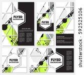 memphis background style design ... | Shutterstock .eps vector #592525106