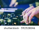 moscow   7 august 2016  party... | Shutterstock . vector #592528046